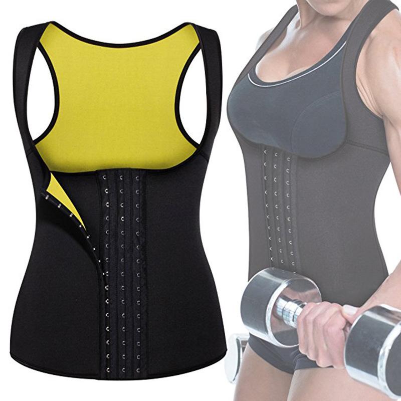 New Women Sauna Waist Trainer Corset Sweat Belt Women Shapewear Sport Girdle Shaper Weight Loss Compression