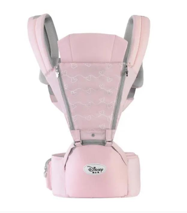 ISO9001 Certificated Factory Newborn Ergonomic Pure Cotton Baby Carrier OEM Support