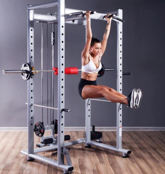 Professional Squat Rack Gym Free Frame Multi-Functional Fitness Equipment Weightlifting Bench Press Rack Barbell Rack Gantry Frame