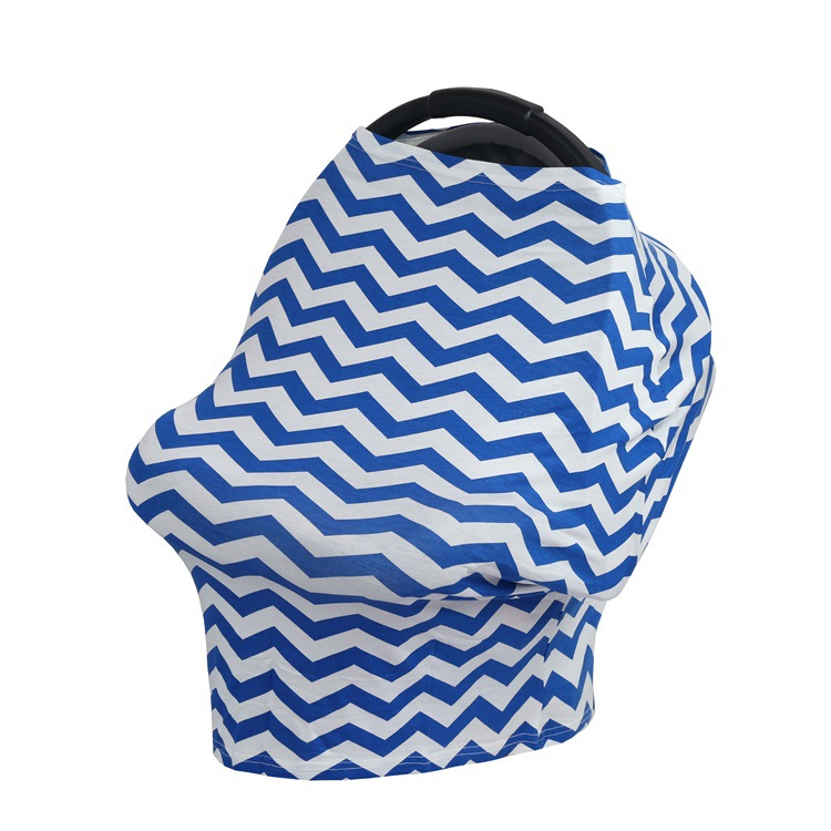 Lactation Towel Multi-Function Safety Seat Cover Baby Carriage Cover Cloth Shopping Cart Cover