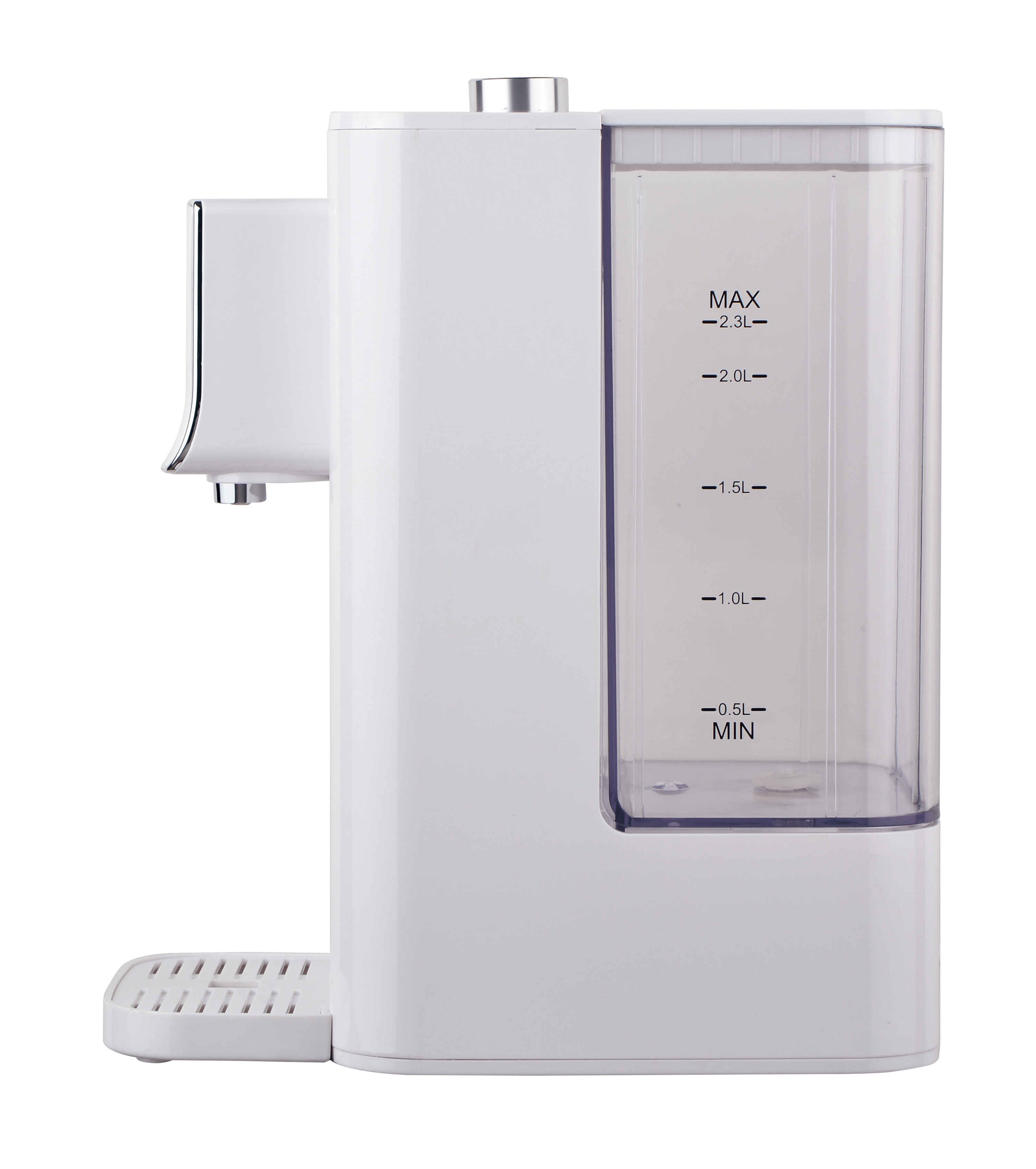fashion New Design 2.5L Instant Boiling Water Dispenser with Removable Transparent Water Tank