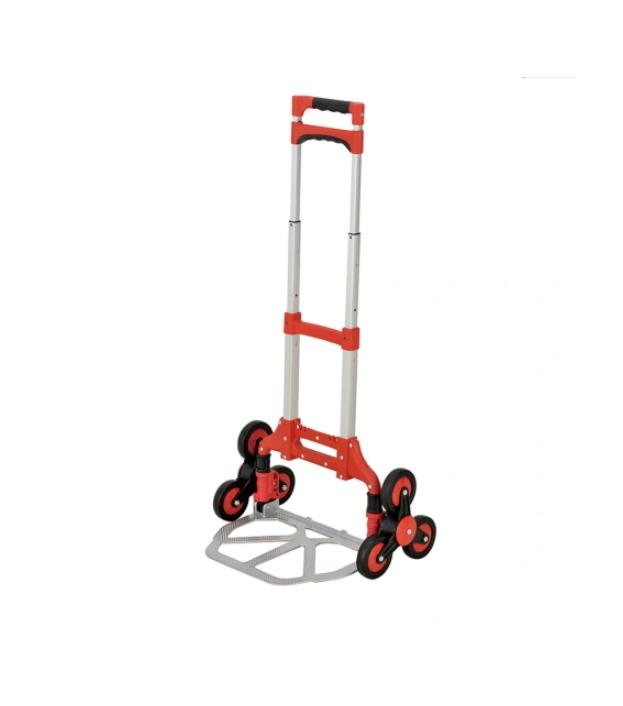 Household Telescopic Step Ladder Stair Hand Truck / Hand Trolley Gzs60A-6W