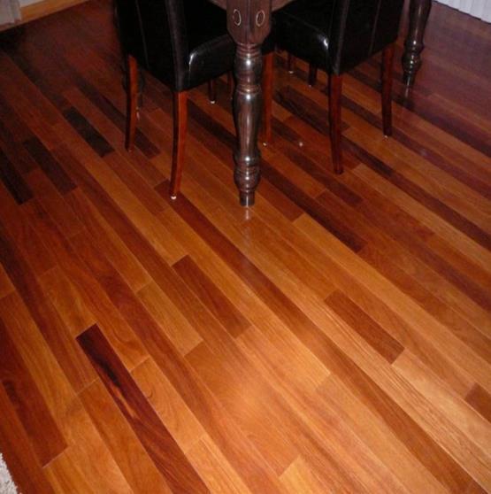 Popular Brazilian Natural Solid Wood Teak Flooring