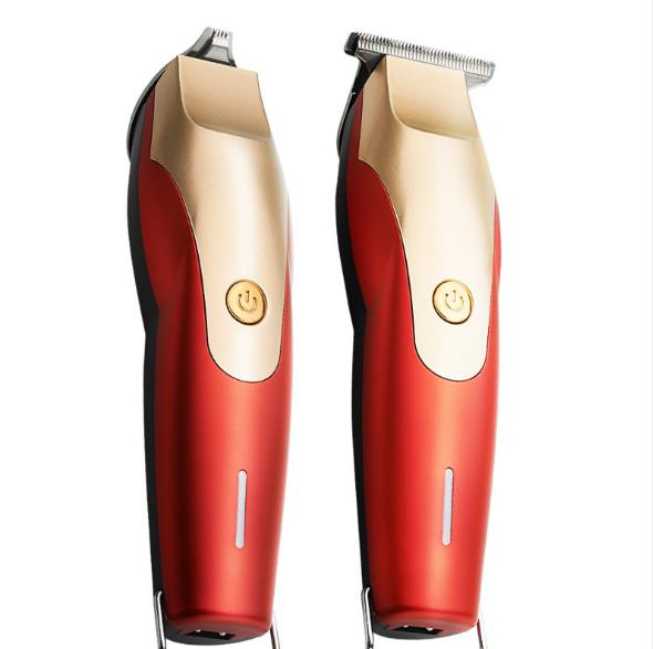 Professional Men Rechargeable Hair Trimmer Electric Hair Clippers