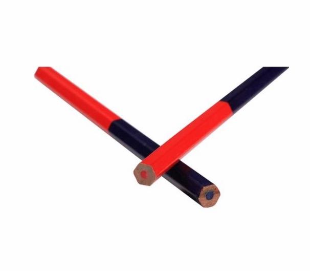 Good Quality Blue Red Carpenter Pencil(SQ-23)