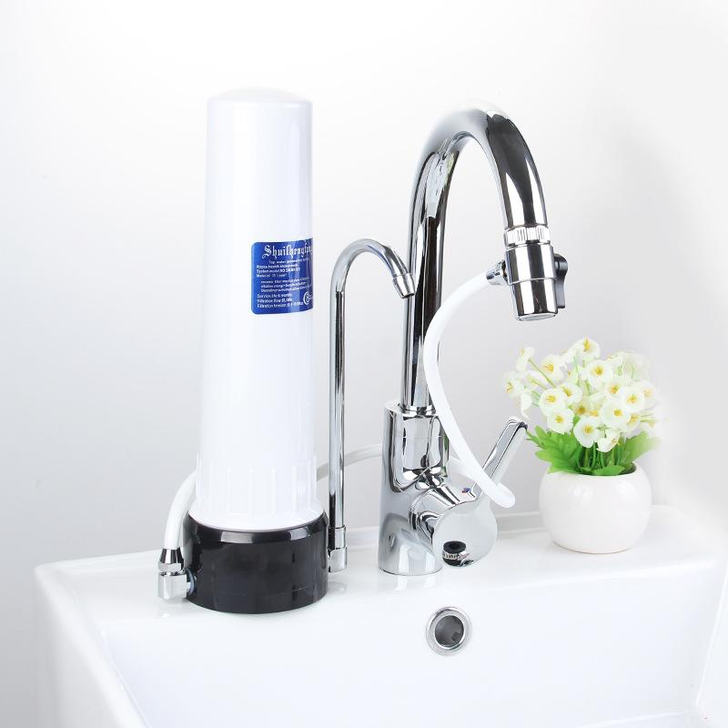 Tap Water Filter Single-Stage Single-Tube Desktop Faucet Water Purifier