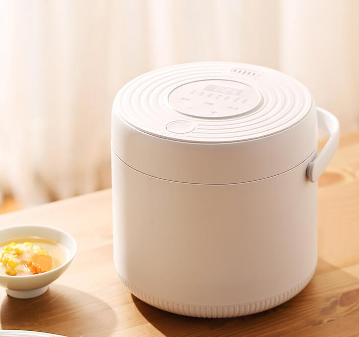 Professional Supplier 2L Electric Mini Rice Cooker with Steaming Basket