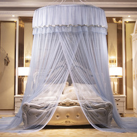 Dome Mosquito Net Hanging Type Encryption Enlarge Diameter 1.5 Ceiling Princess Wind Mosquito Net