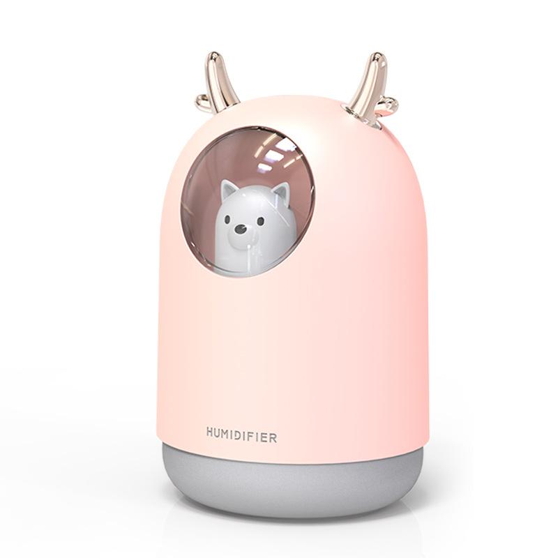 Home Creative Mute Small Desktop Cute Pet USB Mini Humidifier for Bedroom