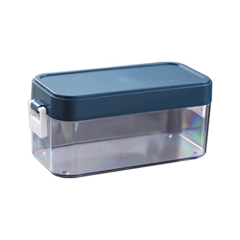Large Capacity Sample Plastic Refrigerator Ice Cube Tray Ice Block Mould Storage Boxes
