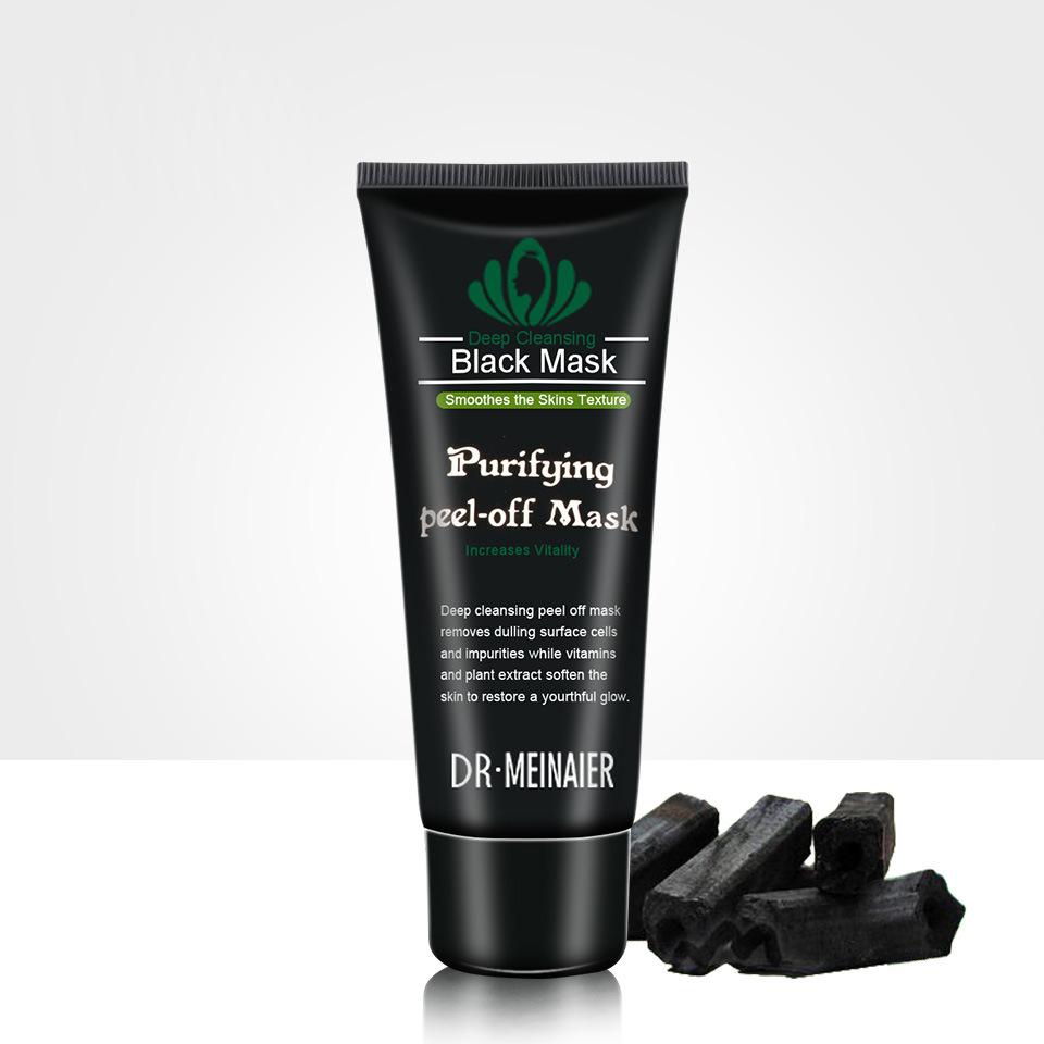 Black Bamboo Charcoal Blackhead Peeling Mask Peeling Type Mineral Mud Nose Mask