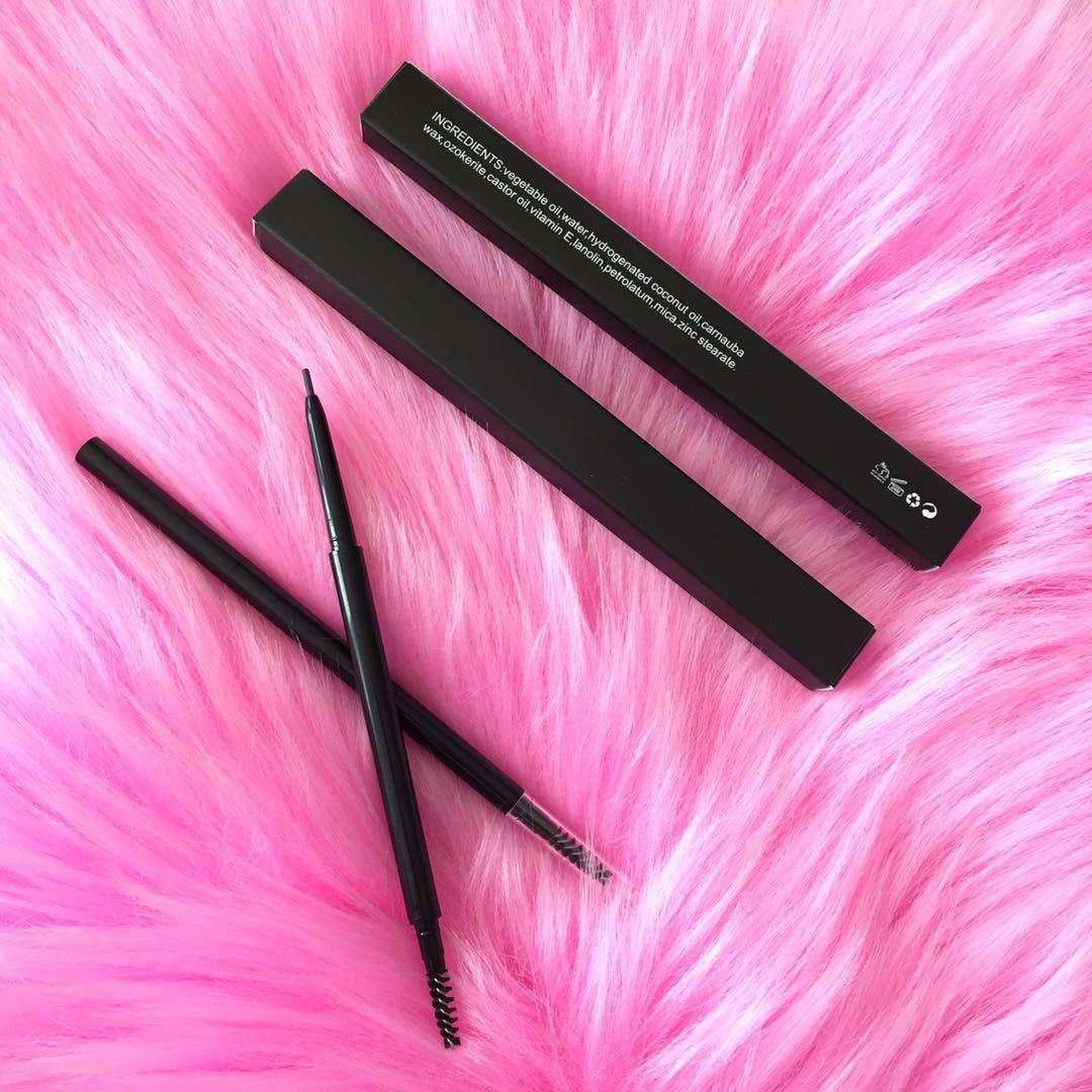 Customized OEM ODM Spot Double Head with Brush Neutral Fine Eyebrow Pencil