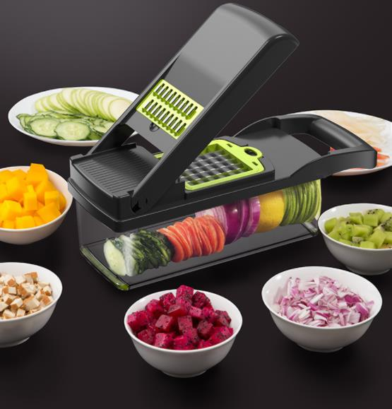 Multifunctional and Convenient Vegetable Chopper Manual Food Chopping and Grating Tool