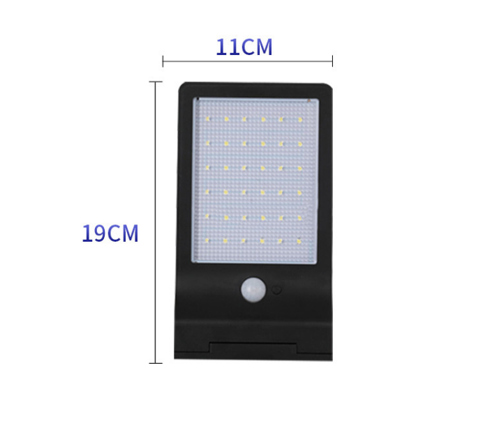 7.2W Outdoor IP65 Panel Solar Wall Lights for Wholesale