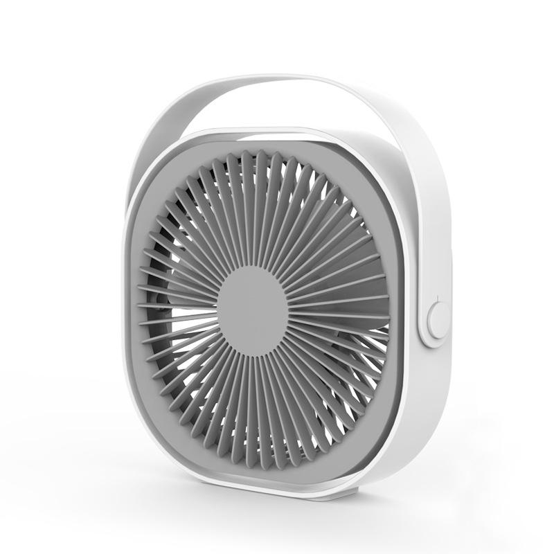 Creative Portable Portable Small USB Charging Electrical 6 Inch Desktop Fan