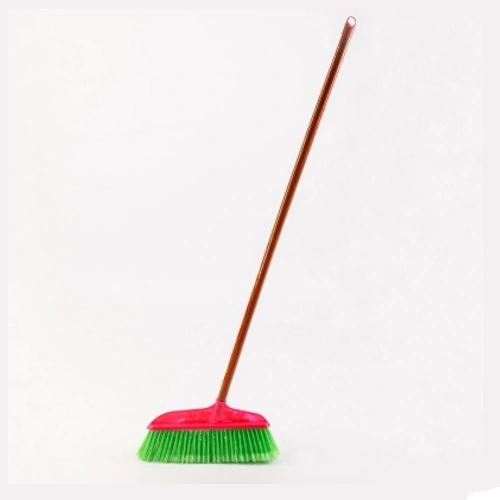 Floor Push Broom with Long Stick