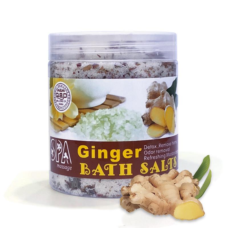 Rose Milk Bath Salt Gentle Cleansing Exfoliating Scrub Massage Bath Salt