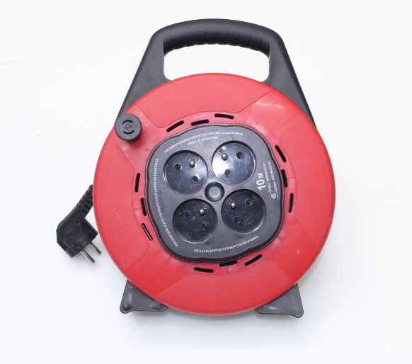 European Style Portable Unique Design Electrical Power Socket with Reel