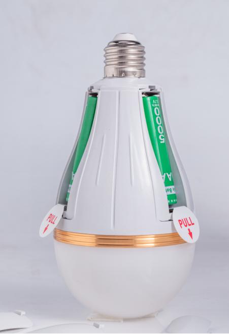 15W 20W 25W 30W Emergency LED Bulb Light with Battery Removable
