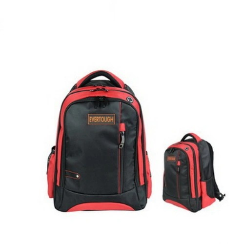 1680d New Arrival Young Men Canvas Laptop Leather Backpacks