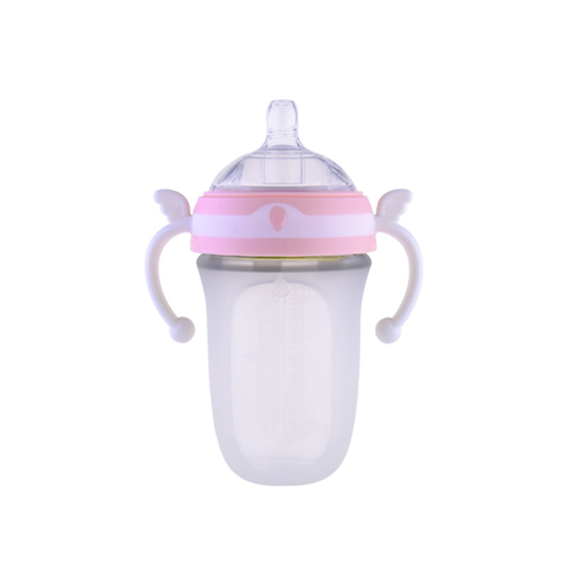 Customized Wide Diameter Milk Bottle OEM Baby Full Soft Weaning Artifact for Mother and Child Products Baby Bottle