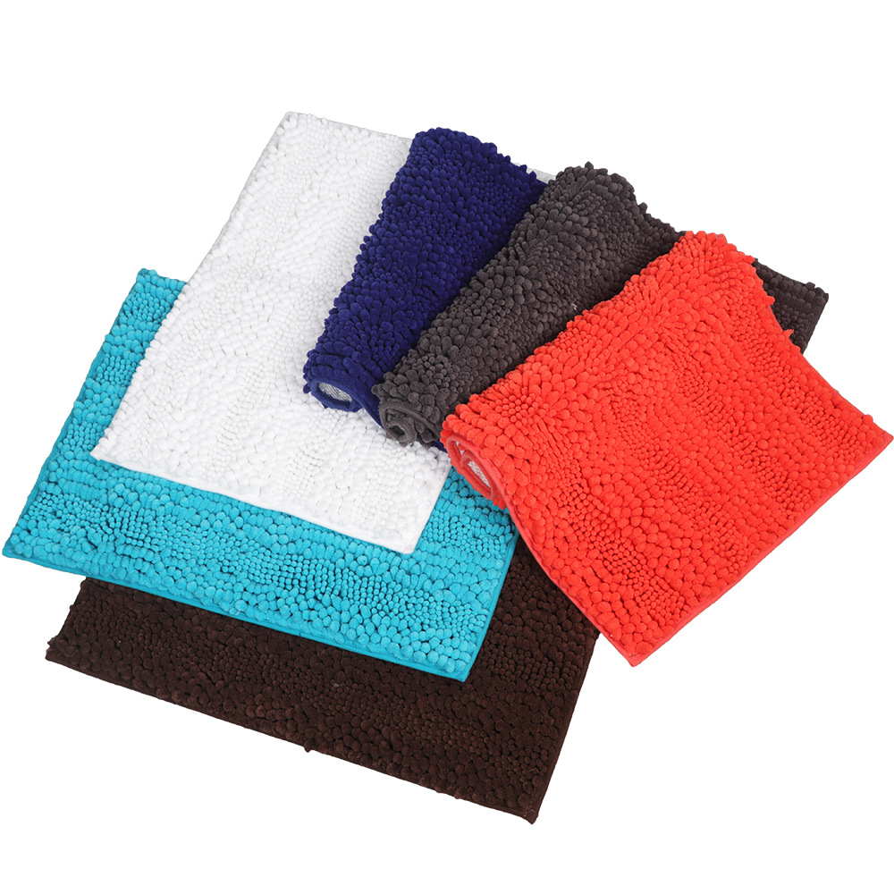 Household Chenille Entrance Door Thickened Kitchen Bathroom Non-Slip Absorbent Carpet
