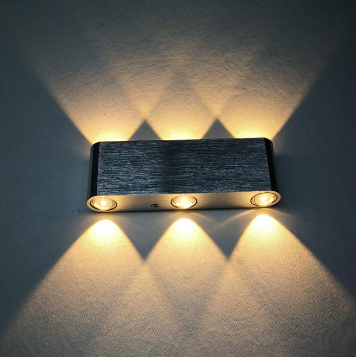 Modern Wholesale Fashion KTV Internet Cafe Restaurant 8W 6W 4W LED Wall Lamp