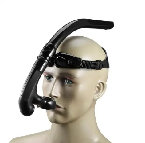 Dry Air Breathing Tube for Swimming and Diving