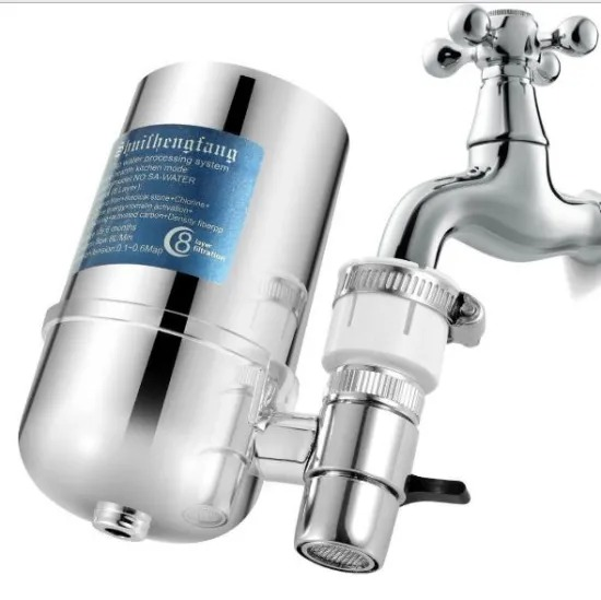 Electroplating Household Kitchen Faucet Filter Water Purifier for Tap Water