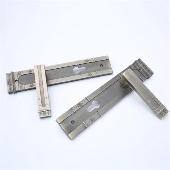 Aluminum Alloy Handle Iron Panel Door Handle Lock Bedroom Door Handle