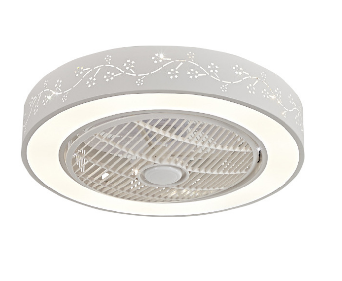 Fashion Luxury Living Room Pendant Ceiling Fan LED Light