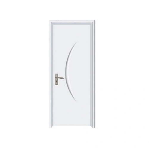 Modern House PVC Bathroom Door Price India Flat Wood Door