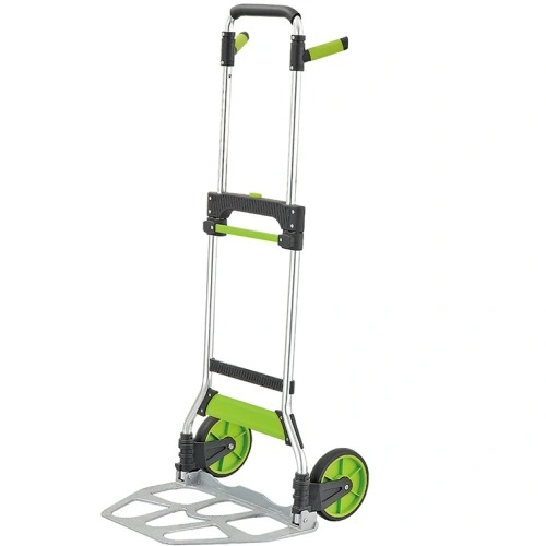 Heavy Duty Foldable Steel Platform Hand Truck with Good Quality Gzs120at