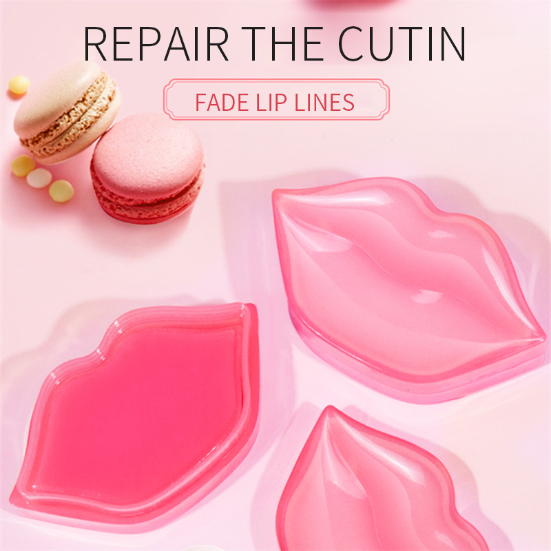 Moisturizes Lips Diminishes Fine Lines Gently Moisturizes Crystal-Like Lip Patch Collagen Lip Mask