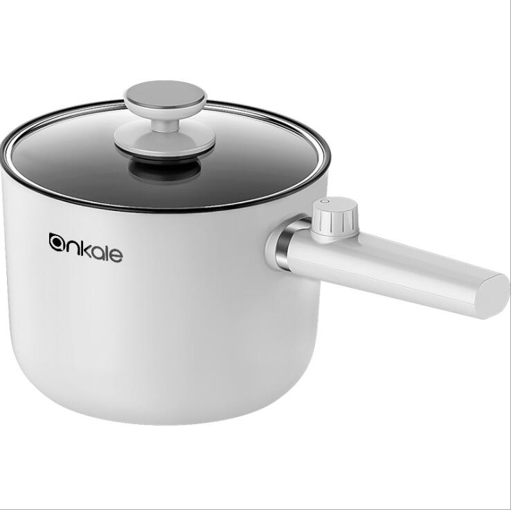 1.5L Multifunction Electric Caldron Skillet Saucepan Sauce Pot Stewpan