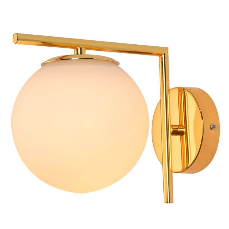 New Design Glass Ball Bedside Wall Lights for Wholesale