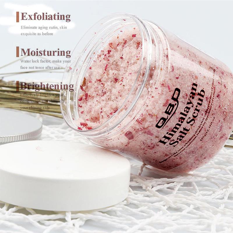 OEM/ODM Bubble Deep Cleansing Gentle Exfoliating Body Scrub Bath Salt