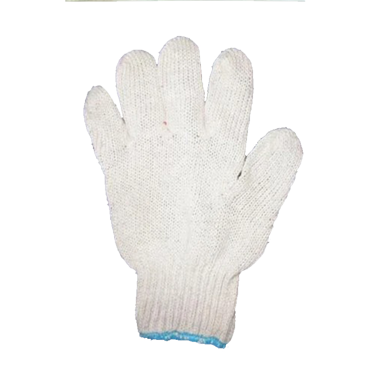 Competitive White Color Working Cotton Glove