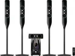 New Design Promotional Price Low MOQ Stereo Sound Bar Surround 5.1 Home Theater Speaker