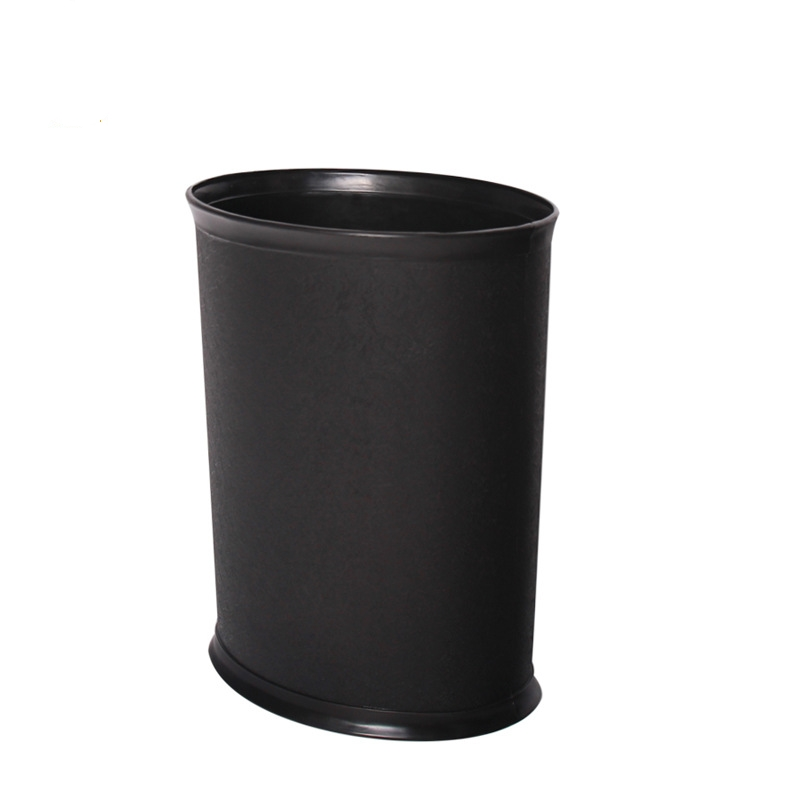 Oval Flame-Retardant Plastic Trash Can