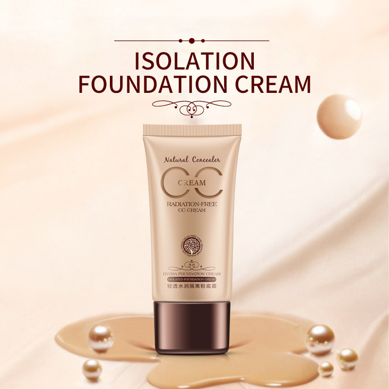 Hydrating Isolation Natural Moisturizing Concealer BB Cream Foundation Cream