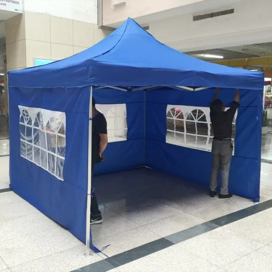 3*3m Folding Tent, Pop up Tent, Gazebo Canopy for Outdoor Camping, Picnic, Party