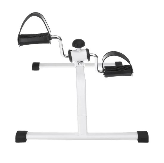 Foldable Fitness Bicycle Household Mini Exercise Bike Body Gym Machine with Anti-Slip Pedal Hand Leg Rehabilitation Equipment
