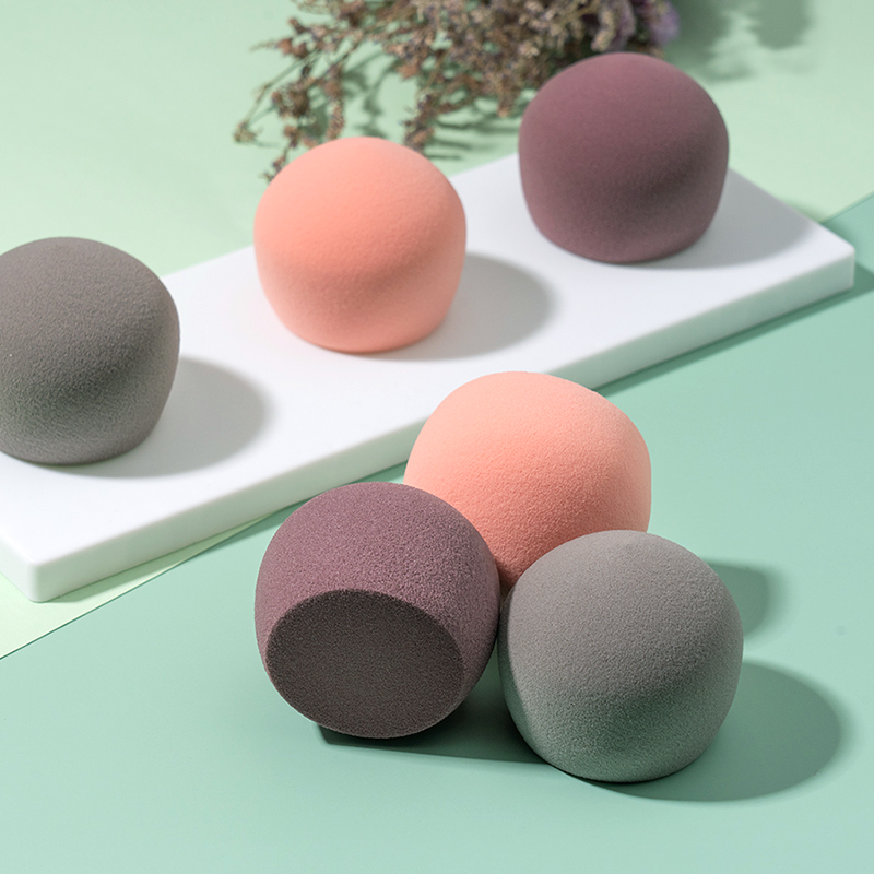 Spot Peach Beauty Blender Super Soft  Not Easy to Absorb Dry and Wet Peach Puff