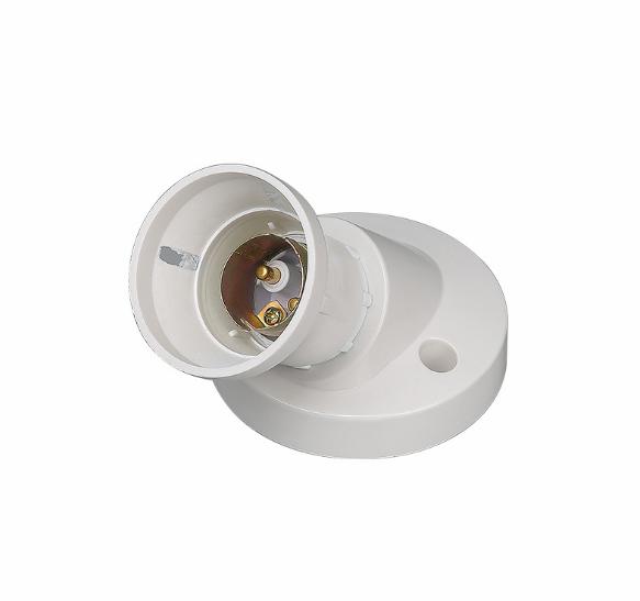 Factory Direct Wholesale Custom Threaded White 10A Lamp Bulb Base