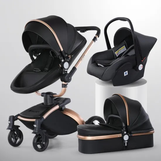Manufacturers Wholesale Travel System Prams 3 in 1 Stroller Baby Walker Set with Carrycot and Carseat Baby Strollers