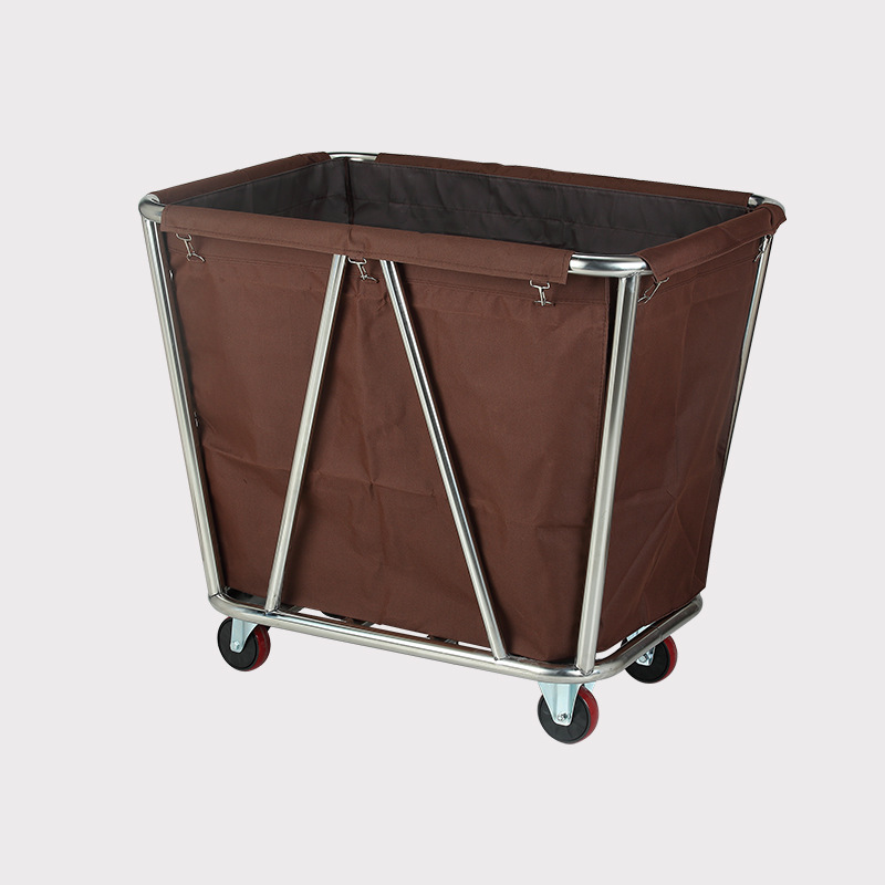 Hotel Supplies Disassembly Model Storage Room Service Cone Linen Cart
