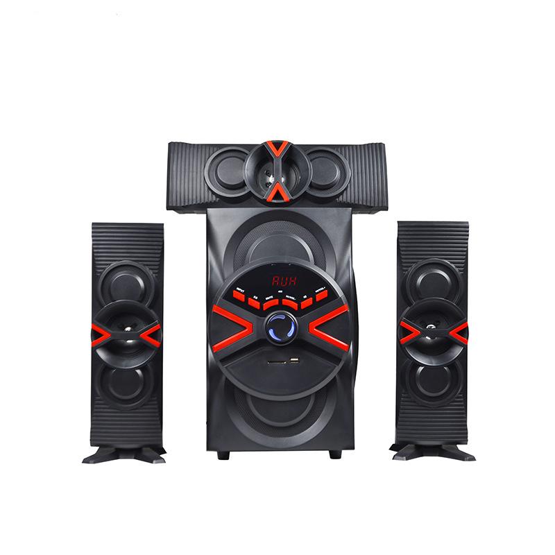 Low MOQ Home Theatre System Subwoofer 3.1 Multimedia Amplifier Speaker for Sale