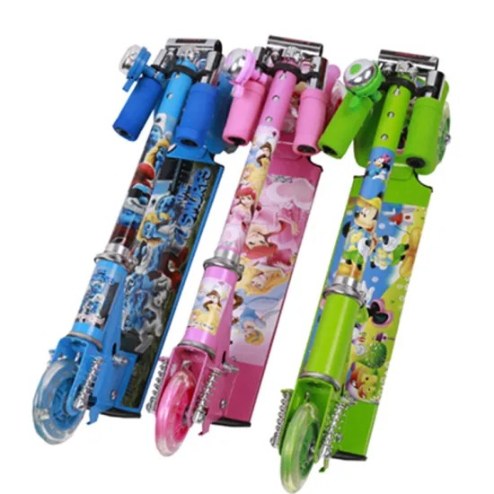 Manufacturers Wholesale 3 Wheels Skating Skate Board Foot Scooter Part Baby Kids Child Toy Scooter