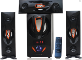2021 Low MOQ Custom Guangzhou 3.1 Bass Home Theatre System Speaker